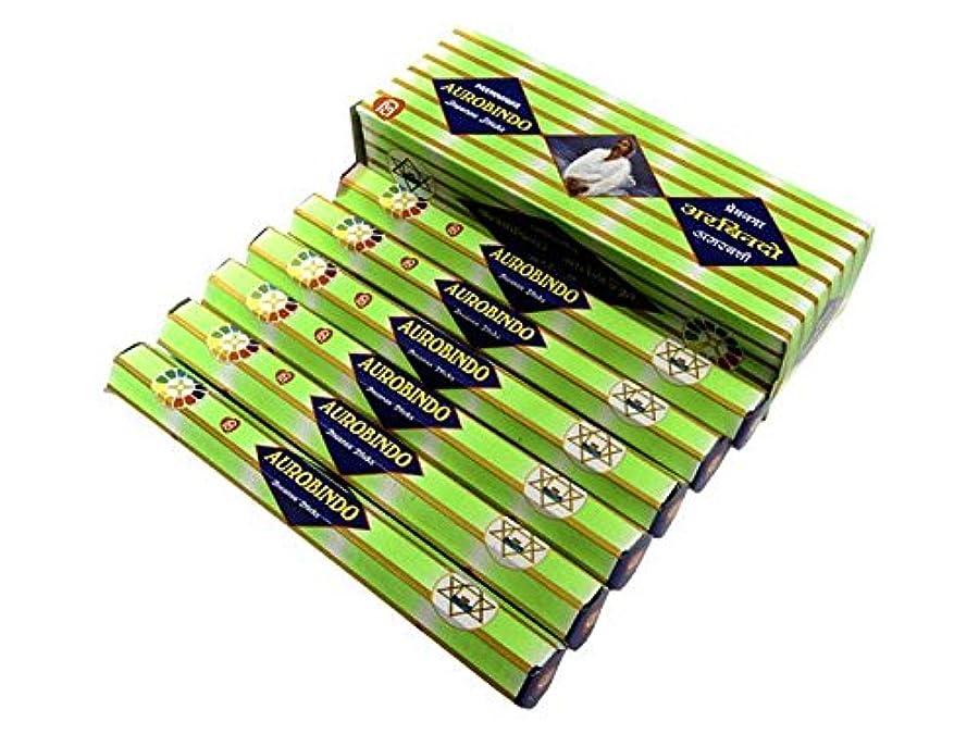 魅惑的な空いている実行するANANTH(アナンス) オーロビンド香 スティック AUROBINDO 6箱セット