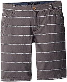 ラッキーブランド Lucky Brand Kids キッズ 男の子 ショーツ 半ズボン As Is Grey Woven Shorts (Big Kids) [並行輸入品]