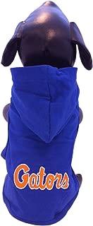 NCAA Florida Gators Collegiate Cotton Lycra Hooded Dog Shirt