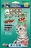 ドギーマン 猫用おやつ 猫の毛玉ケアスナック お徳用 まぐろ味 130g