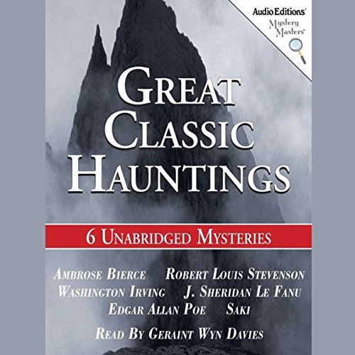 Great Classic Hauntings audiobook cover art