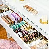 Dividers 'TidyMalm', nueva versión | Juego de separadores para cajón de Ikea Malm | Organizador de cosméticos