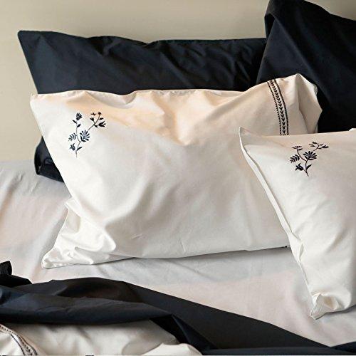 Fab the Home 枕カバー・ピローケース ネイビー 50x70cm用 ソワレ FH113863-310