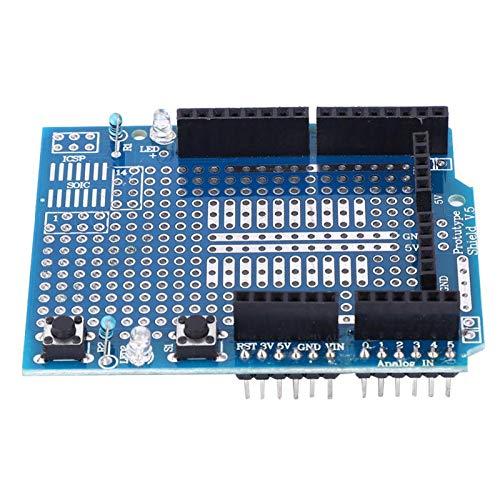 Prototype Shield Board Zwei LEDs 3 STK. Gute elektrische Leitfähigkeit ProtoShield für Arduino
