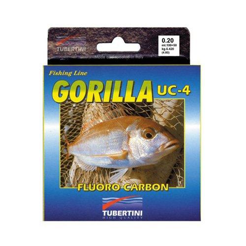 Tubertini Gorilla UC4 - Fluorocarbono, 100 m, 0,25 mm
