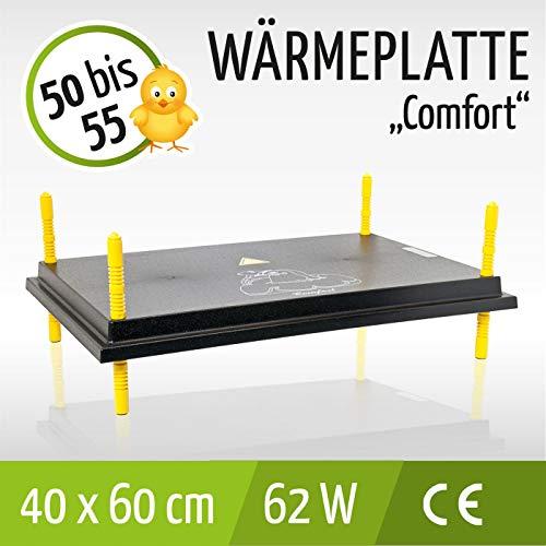 Wärmeplatte 40x60cm 62W Küken-Aufzucht Wärmelampe Geflügel Hühner - 3
