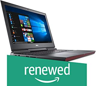 (Renewed) DELL Inspiron 15 Gaming 7567 15.6-inch Laptop (7th Gen i7-7700HQ/8GB/1TB/Windows 10/4GB Graphics), Black