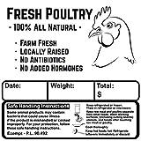 Poultry Freezer Labels 3.5