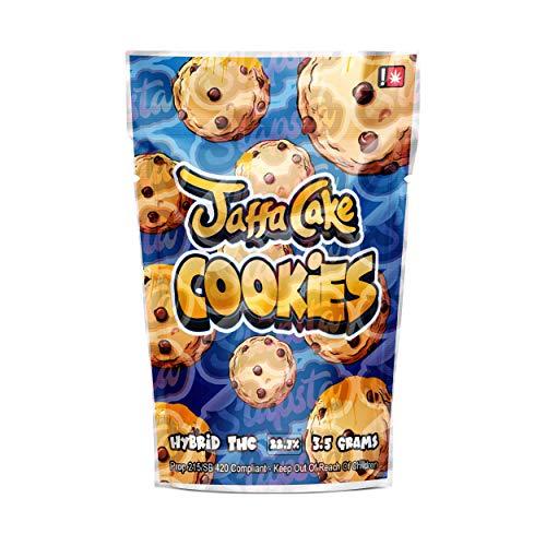Jaffa Cake Cookies Mylar Bolsas pre-etiquetadas