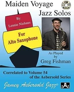 Play-A-Long Series, Vol. 54: Maiden Voyage - Alto Sax Solos (Book + CD Set)
