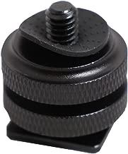 Kaavie KA-J2 Dual Nuts Cold Shoe Mount 1 4  Screw Adapter