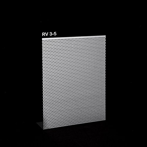 Lochbleche Alu, Stahl Verzinkt, Edelstahl 1,5mm Zuschnitt individuell auf Maß NEU günstig (RV3-5-ALU-500 mm x 200 mm)
