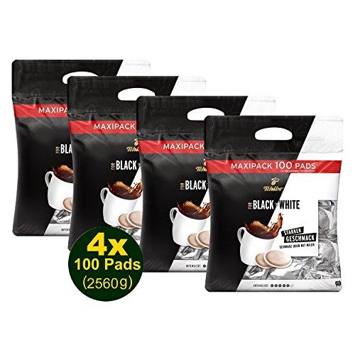 Tchibo Black 'n White 100 Kaffeepads 4 x 740g (2960g) - Arabica, Maxipac