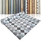 CV Bodenbelag Toscana Aqua - extra abriebfester PVC Bodenbelag (geschäumt) - Naturstein Marmor Mosaik - edle Steinoptik - Oberfläche strukturiert - Meterware (200x250 cm)