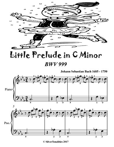 Little Prelude In C Minor Bwv 999 Easiest Piano Sheet Music Tadpole Edition (English Edition)