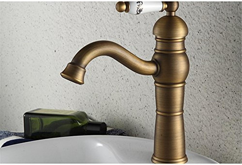 Bijjaladeva Wasserhahn Bad Wasserfall Mischbatterie Waschbecken Waschtisch Armatur Waschbeckenarmatur für BadezimmerDas Kupfer Kalt- und Mixer Mode Becken Mischbatterien