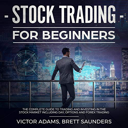 Stock Trading for Beginners audiobook cover art