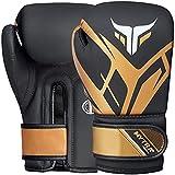 Mytra Fusion Guantes de boxeo para niños Guantes de boxeo para niños con palma ventilada MMA, Muay Thai,...