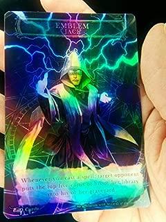 GnD Cards 1x Jace, Telepath Unbound Emblem FOIL Laminated Custom Altered MTG Magic Origins