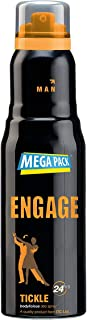 Engage Tickle Deodorant for Men, 220ml