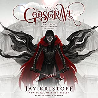 Godsgrave     The Nevernight Chronicle, Book 2              Auteur(s):                                                                                                                                 Jay Kristoff                               Narrateur(s):                                                                                                                                 Holter Graham                      Durée: 19 h et 52 min     31 évaluations     Au global 4,9