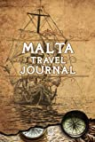 Malta Travel Journal: Notebook 120 Pages 6x9 Inches - Vacation Trip Planner Travel Diary Farewell Gift Holiday Planner