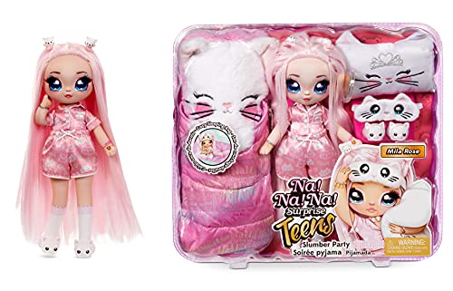 MGA Entertainment Na! Na! Na! Surprise Teens Slumber Party Doll 2 Multicolor ,11 inches