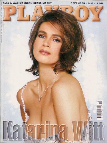 Playboy Magazin Dezember 1998 Zeitschrift Original Deutsche Ausgabe 12/1998 KATHARINA WITT, KATARINA WITT
