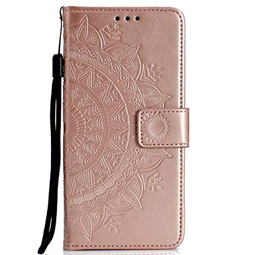 Compatible avec Coque Galaxy S7 Edge Etui,Housse en Cuir Flip Case Coque de Intérieure TPU Silicone Ultra Mince Bookstyle Wallet Pochette Support Cartes Slots Flip Case Etui Coque pour Galaxy S7 Edge