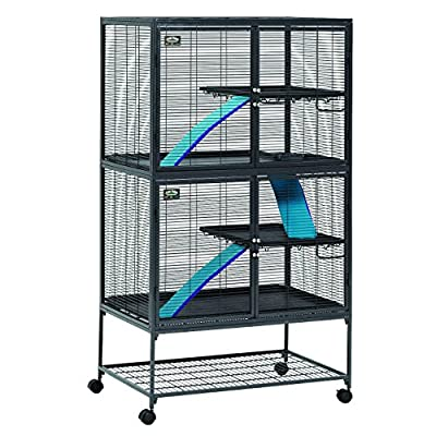 MidWest Deluxe Critter Nation Double Unit Small Animal Cage (Model 162) by MidWest Homes For Pets