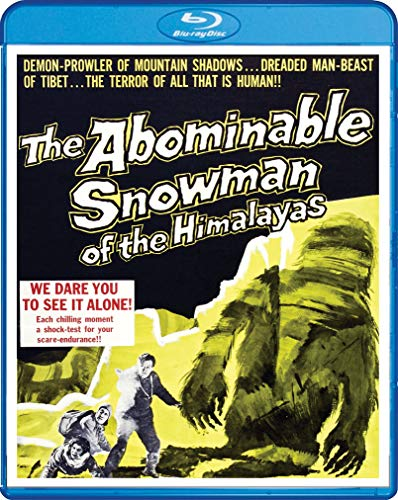 The Abominable Snowman of the Himalayas (1957) [Blu-ray]