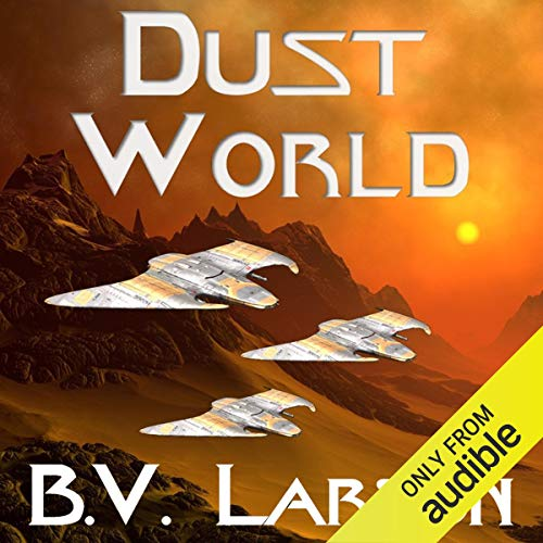 Dust World audiobook cover art