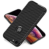 Yonader iPhone 8 Case/7 Case, [Carbon Fiber][Frosted and Anti-Slip] Perfect Slim Fit Ultra Thin Protection Series TPU for Apple iPhone 8/iPhone 7