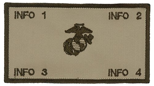 TacticalStitches.com Flak Jacket Identification Patch/Tag with Fastener (V2)