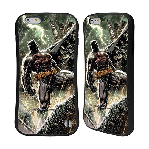 Head Case Designs Oficial Batman DC Comics Nueva Familia 52 Bat Disfraces icónicos Carcasa híbrida Compatible con Apple iPhone 6 Plus/iPhone 6s Plus