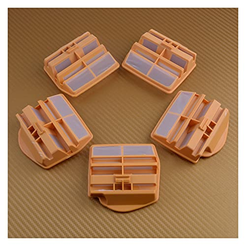 ZSYLOVE 5pcs Nylon Filter Filter Cleaner 544080802 Fit de reemplazo para Husqvarna 445 450 Accesorios de Motosierra