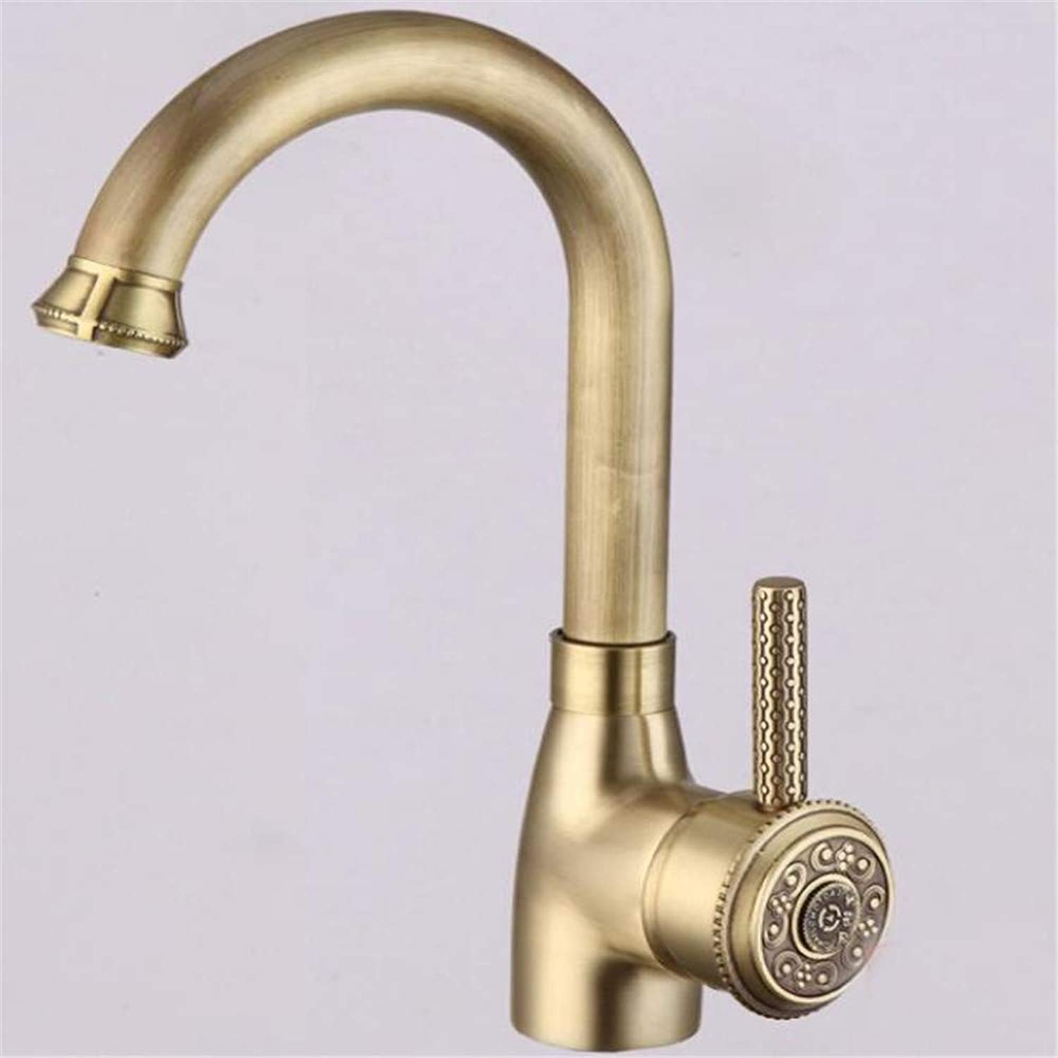 Basin Mixer Tap All Copper European Cold and Hot Faucet Basin Wash Basin Basin Basin Faucet Can redate.