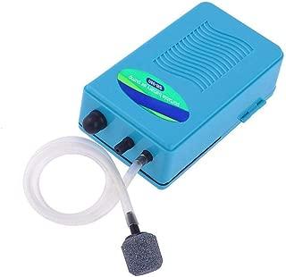 Saim Blue Portable Aquarium Battery Backup Operated Fish Tank Air Pump Aerator Oxygen