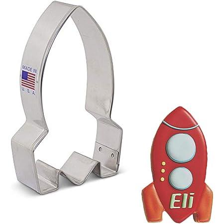 "Ann Clark Cookie Cutters Space Rocket Cookie Cutter, 4"""