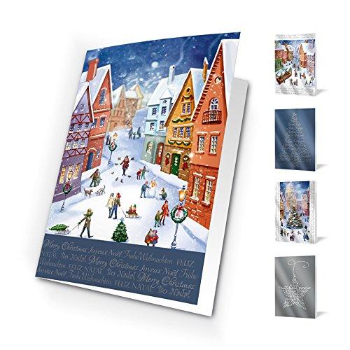 Unicef XR16021874 Grußkarten, Design World of Tradition, 10 Stück