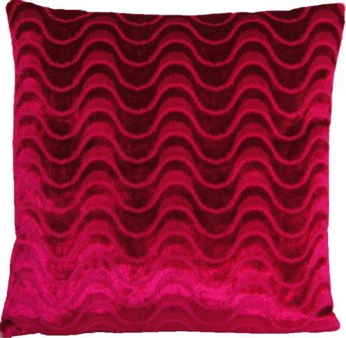 Housse de coussin en velours Rose Home Decor Designers Guild oreiller Couvre-lit en tissu à Parsemer Marlia Framboise