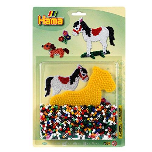 Hama 4057 - Große Blisterpackung Pferd, Bügelperlen