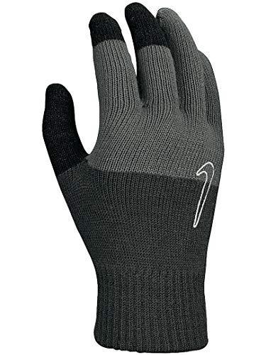 Nike Guantes Unisex de Punto Tech and Grip para Adultos, Color Gris, S/M