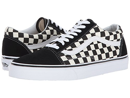 Vans Old Skool Primary Checker BLK/WHT Size 10.5 M US Women / 9 M US Men