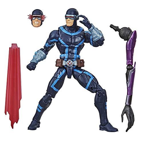 Figura de acción Coleccionable de Cíclope de X-Men de 15cm de Hasbro Marvel Legends Series, con 2 Accesorios, a Partir de 4 años