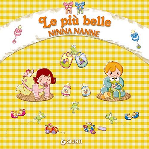 Le più belle ninne nanne audiobook cover art
