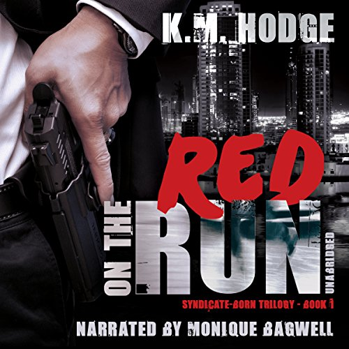 Red on the Run audiobook cover art