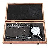 Medidor de Diámetro Interior de 6-10 mm, Indicador de Prueba de Dial de Dinterno 0.001 mm Herramienta de Medición de Precisión de Medidor de Micrómetro de Alta Precisión