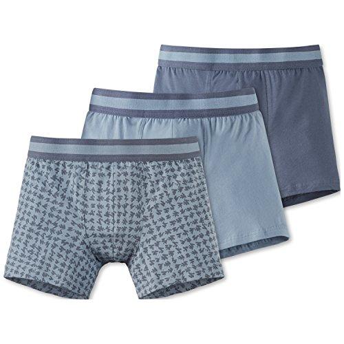 Schiesser Jungen Boxershorts 3Pack Shorts, 3er Pack, Mehrfarbig (Sortiert 1 901), 140 (Herstellergröße XS)
