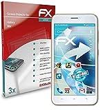 atFolix Schutzfolie kompatibel mit Hafury Mix Folie, ultraklare & Flexible FX Bildschirmschutzfolie (3X)